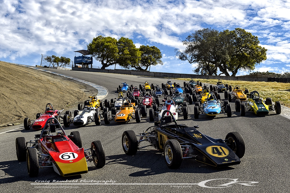 HMSA Spring Club Event, Laguna Seca - Tired Iron Motorsports